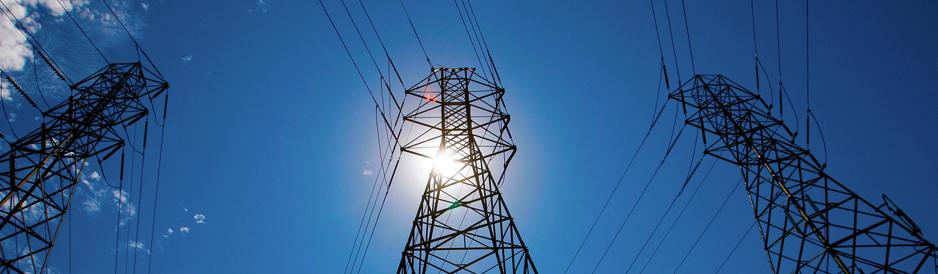pylon photo to illustrate electrical voltage optmisation