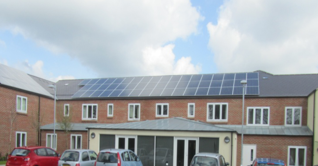 Solar Panels for Housing Association