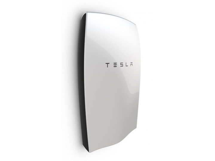 Tesla Power wall Battery Storage Front View