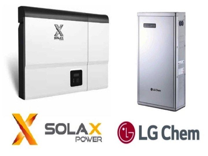 Solax battery storage