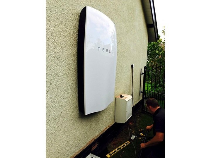 Tesla Powerwall Battery Storage Installation And Solar Pv