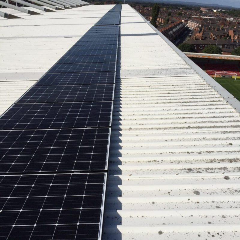 Crewe Alexander Solar panels
