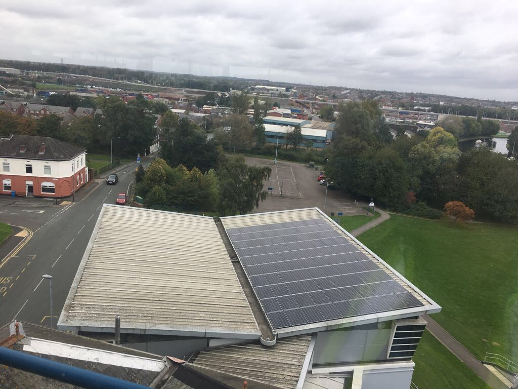 Catalyst Science Discovery Centre Uses Solar Panel System